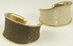 Rebecca Norman Stingray Abstract Cuff