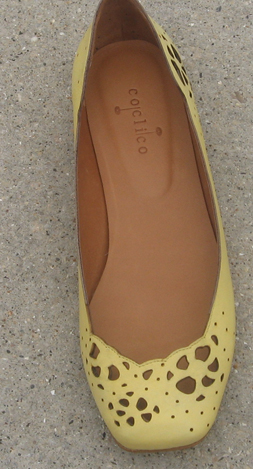 Coclico Laser-Cut Leather Flat