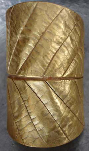 SURevolution Hand-Dipped Double Leaf Cuff