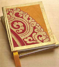 Buddha's Throne  Handmade Journal