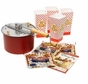 Whirley Pop 25103 Stovetop Popcorn Popper Theater Style Popcorn Set Red