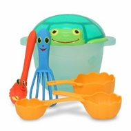 Melissa and Doug Seaside Sidekicks Sand Baking Set - click to enlarge