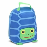 Melissa and Doug Scootin' Turtle Lunch Bag - click to enlarge