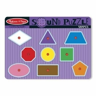 Melissa and Doug Shapes Sound Puzzle - click to enlarge