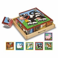Melissa and Doug Farm Cube Puzzle - click to enlarge