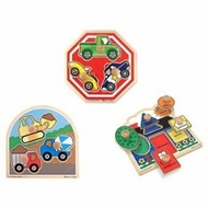 Melissa & Doug Jumbo Knob Puzzles - click to enlarge