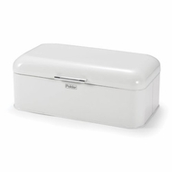 Polder KTH-916201 Retro Bread Box Bin, White - click to enlarge