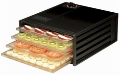 Excalibur 2400 4 Tray Economy Dehydrator Black - click to enlarge