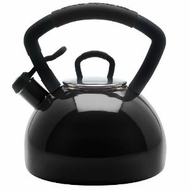 KitchenAid 51633 Black Tea Kettle - click to enlarge