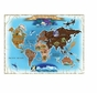 Melissa and Doug 500 pc Map of the World Cardboard Jigsaw