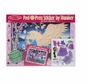 Melissa and Doug Peel & Press Sticker by Number - Mystical Unicorn