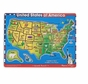 Melissa and Doug U.S.A. Map Sound Puzzle