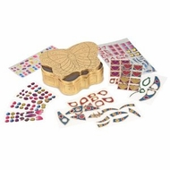Melissa & Doug 4300 Peel & Press Sticker by Number - Butterfly Treasure Box - click to enlarge
