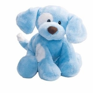 Gund Baby 058376 Spunky Plush Puppy Toy, Blue - click to enlarge