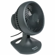 Holmes HAOF-90UC 10in 3-Speed Blizzard Oscillating Table Fan, Charcoal - click to enlarge