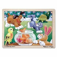 Melissa and Doug 30 pc Playful Pets Cardboard Jigsaw - click to enlarge