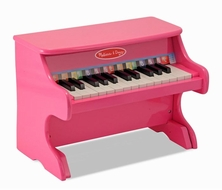 Melissa and Doug Learn To Play Pink Piano - click to enlarge