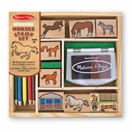 Melissa and Doug # 2410 Horses Stamp Set - click to enlarge
