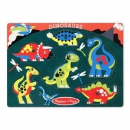 Melissa and Doug Dinosaurs Peg Puzzle - click to enlarge