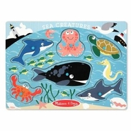 Melissa and Doug Sea Creatures Peg Puzzle - click to enlarge
