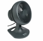 Holmes HAOF-90UC 10in 3-Speed Blizzard Oscillating Table Fan, Charcoal