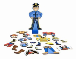 Melissa and Doug Joey Magnetic Dress-Up Set - click to enlarge