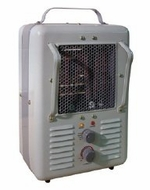 TPI Corporation 188TASA Fan Forced Portable Heater Milk House Style Fan - click to enlarge