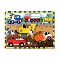 Melissa and Doug Construction Chunky Puzzle - click to enlarge