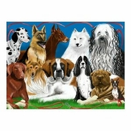 Melissa and Doug 200 pc Fetching Friends Cardboard Jigsaw - click to enlarge