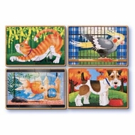 Melissa and Doug Pets Puzzles in a Box - click to enlarge