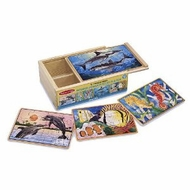 Melissa and Doug Sea Life Puzzles in a Box - click to enlarge