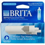 Brita 35561 Bottle Replacement Filters, 2pk