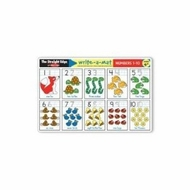 Melissa and Doug Numbers 1-10 Write-A-Mat - click to enlarge