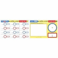 Melissa and Doug Telling Time Write-A-Mat - click to enlarge