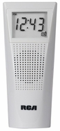 RCA BRC10 Bathroom Clock Radio (White) - click to enlarge
