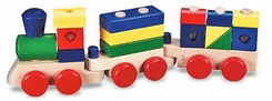 Melissa and Doug #572 Stacking Train - click to enlarge