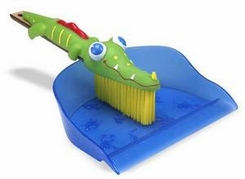 Melissa and Doug Augie Alligator Dustpan and Brush - click to enlarge
