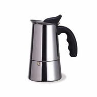 Laroma 18/10 Stainless Steel 6-Cup Stovetop Espresso Coffee Maker - click to enlarge