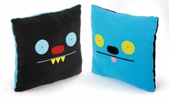 Uglydoll Double Sided Uglypillow : Ninja and Ket - click to enlarge