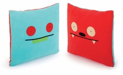 Uglydoll Double-Sided Uglypillow : Dave Darinko and Uglybot - click to enlarge