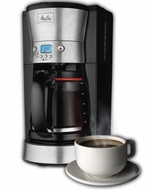 Melitta 46893 12-Cup Coffee Maker - click to enlarge