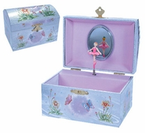 Schylling Iridescent Fairy Jewelry Box - click to enlarge