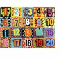 Melissa and Doug Jumbo Numbers Chunky Puzzle