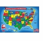 Melissa and Doug 440: USA Map 51-Piece Floor Puzzle
