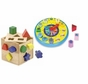 Melissa and Doug Shape Sorting Clock & Shape Sorting Cube