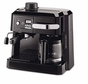 DeLonghi BCO320T Combination Espresso and Drip Coffee, Black