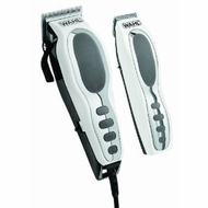 Wahl 9284 Pet Pro Combo Kit 17 Piece Pet Grooming Kit Deluxe Series Chrome White - click to enlarge