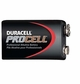 Duracell Procell Professional 9volt Alkaline Batteries, 12-Count