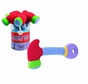 Gund 058752 Baby Crashing Hammer Sound Rattle, Red, 8.5 Inch