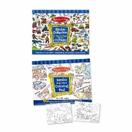 Melissa & Doug Boys Coloring / Sticker Pad Bundle - click to enlarge
